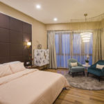 Muse by the sky - Master bedroom with bespoke furniture - Be In Design Solutions Sdn Bhd