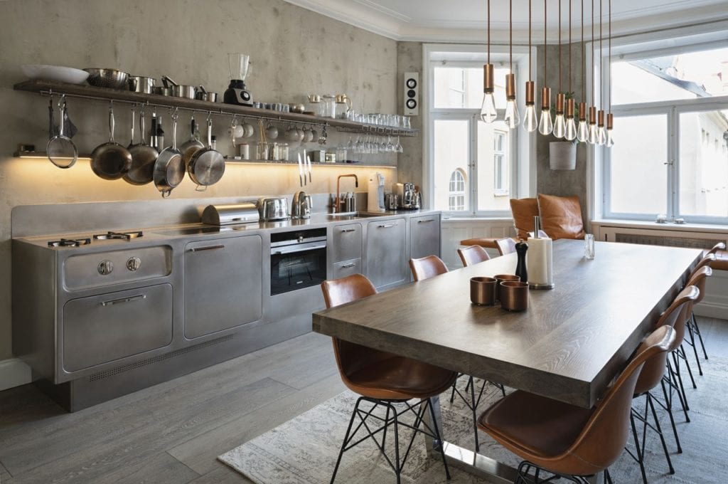industrial kitchen modern design