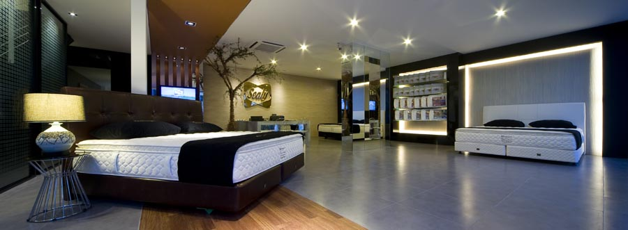 Sealy Mattress Gallery - Damansara Uptown Malaysia - Be In Design Solutions Sdn Bhd